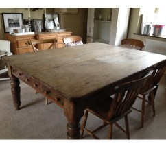 Large Kitchen Table Christmas Decorating Ideas For The Antique Pine A11845 318915 Sellingantiques