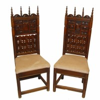 Gothic Hall Chairs | 248848 | Sellingantiques.co.uk
