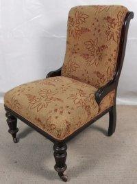Victorian Ebonized Nursing Chair | 132783 ...