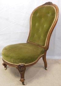 Victorian Walnut Nursing Chair | 163958 | Sellingantiques ...