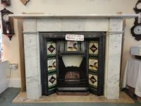 Victorian Marble Fireplace Insert