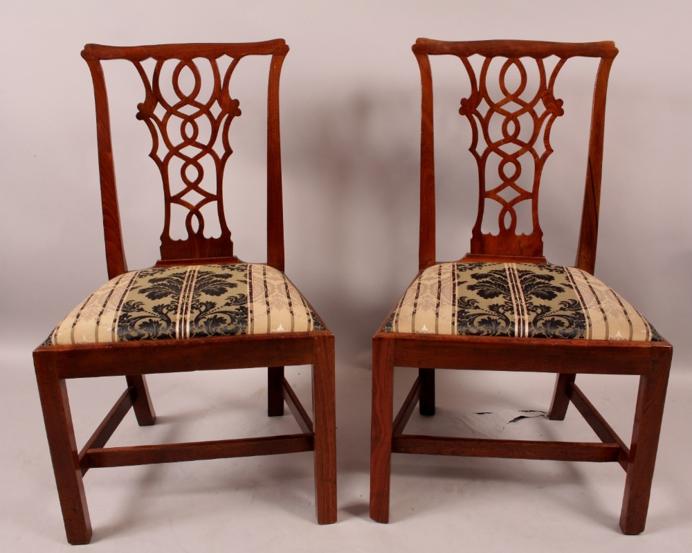 chinese chippendale chairs uk leather office canada pair of 18th century 406267