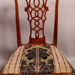 Chinese Chippendale Chairs Uk Personalized Toddler Chair Canada Pair Of 18th Century 406267 Sellingantiques Co