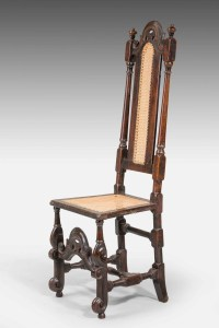 William And Mary Period Oak Single Chair   348123 ...