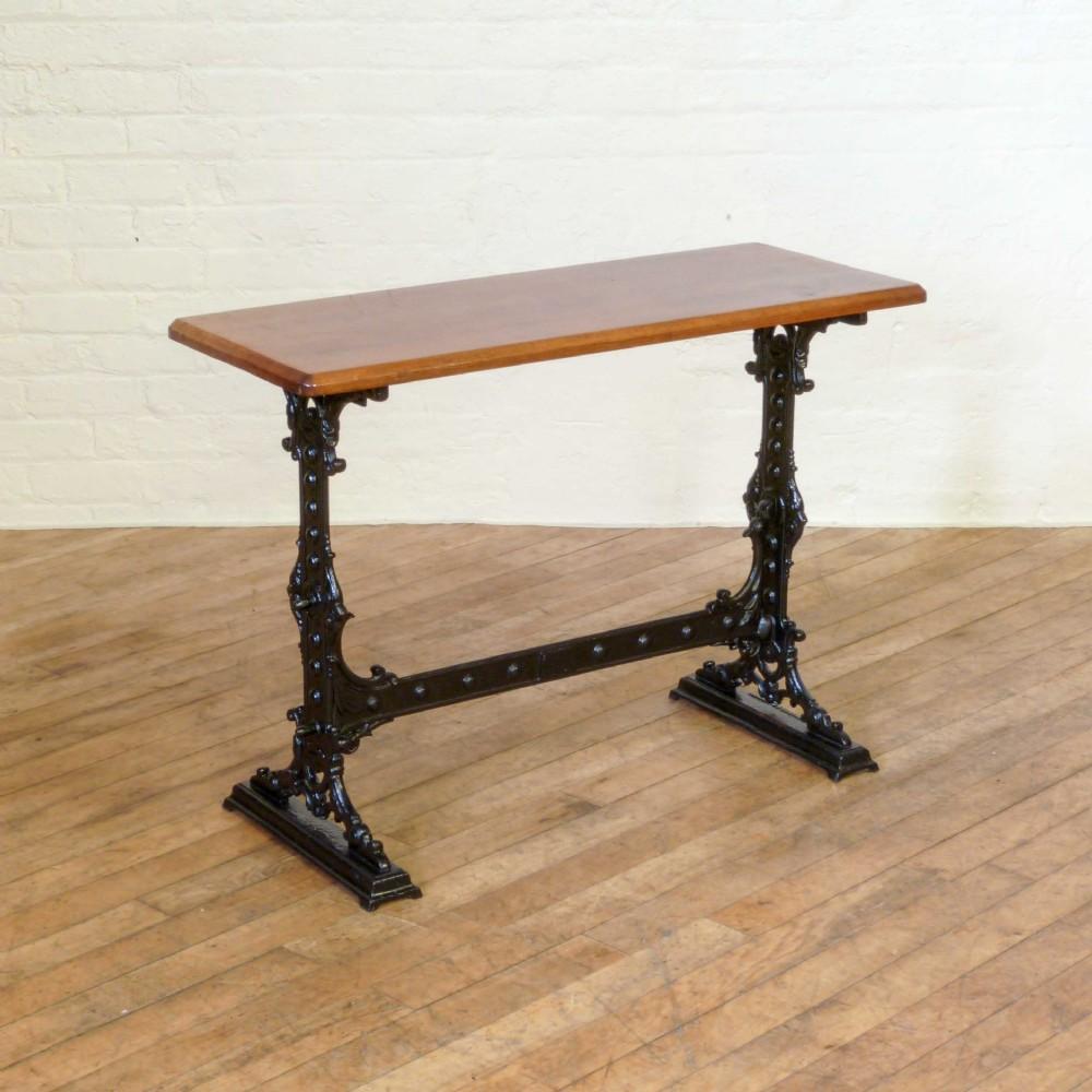 Victorian Cast Iron Pub Table  346275  Sellingantiquescouk