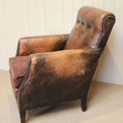 Distressed Leather Armchair Uk Tall Gaming Chair French 221759 Sellingantiques Co Page Load Time 0 28 Seconds