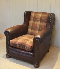 French Leather Armchair | 318531 | Sellingantiques.co.uk
