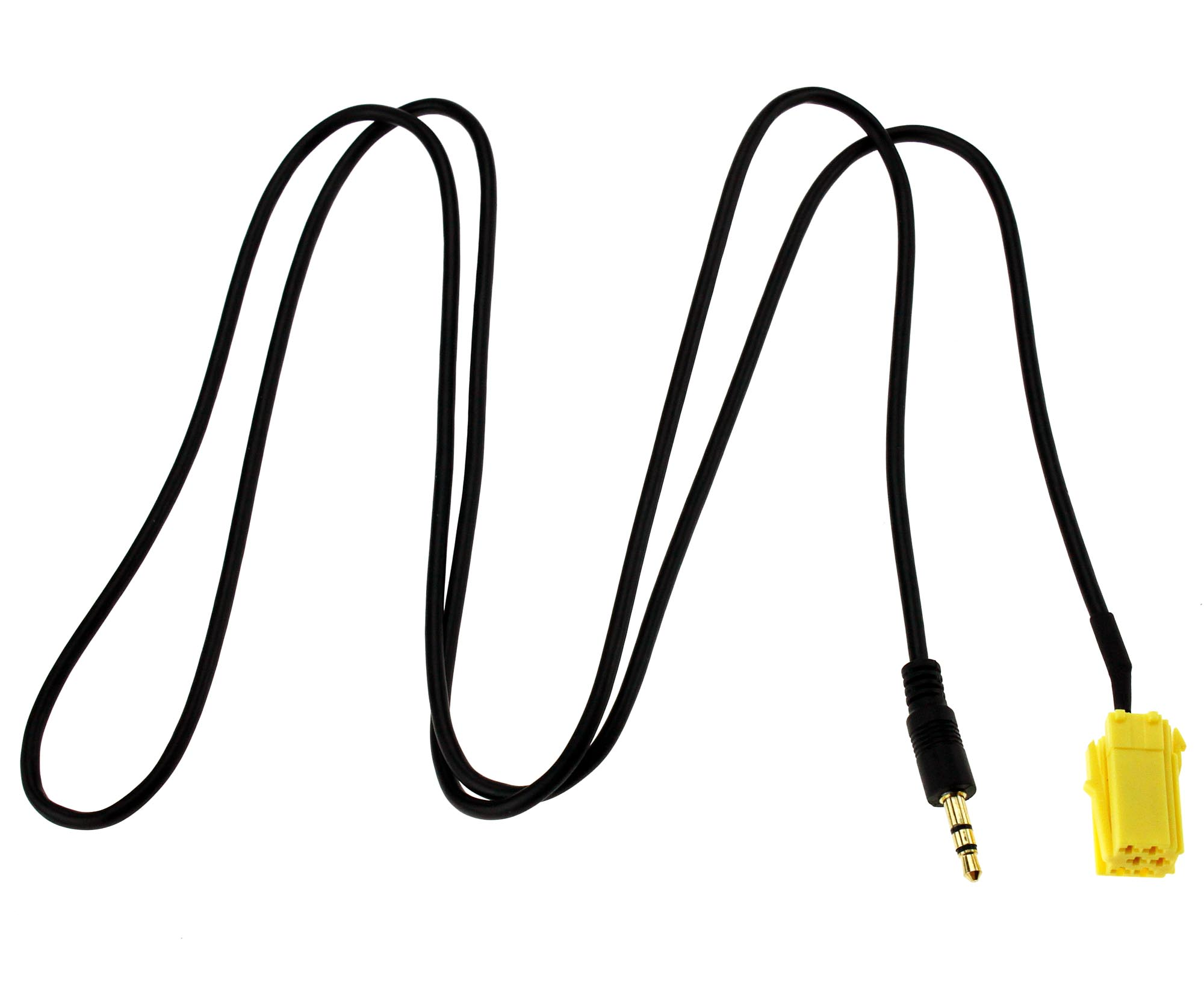 3.5mm Jack Aux IN Gold Plated Input Adapter Cable for