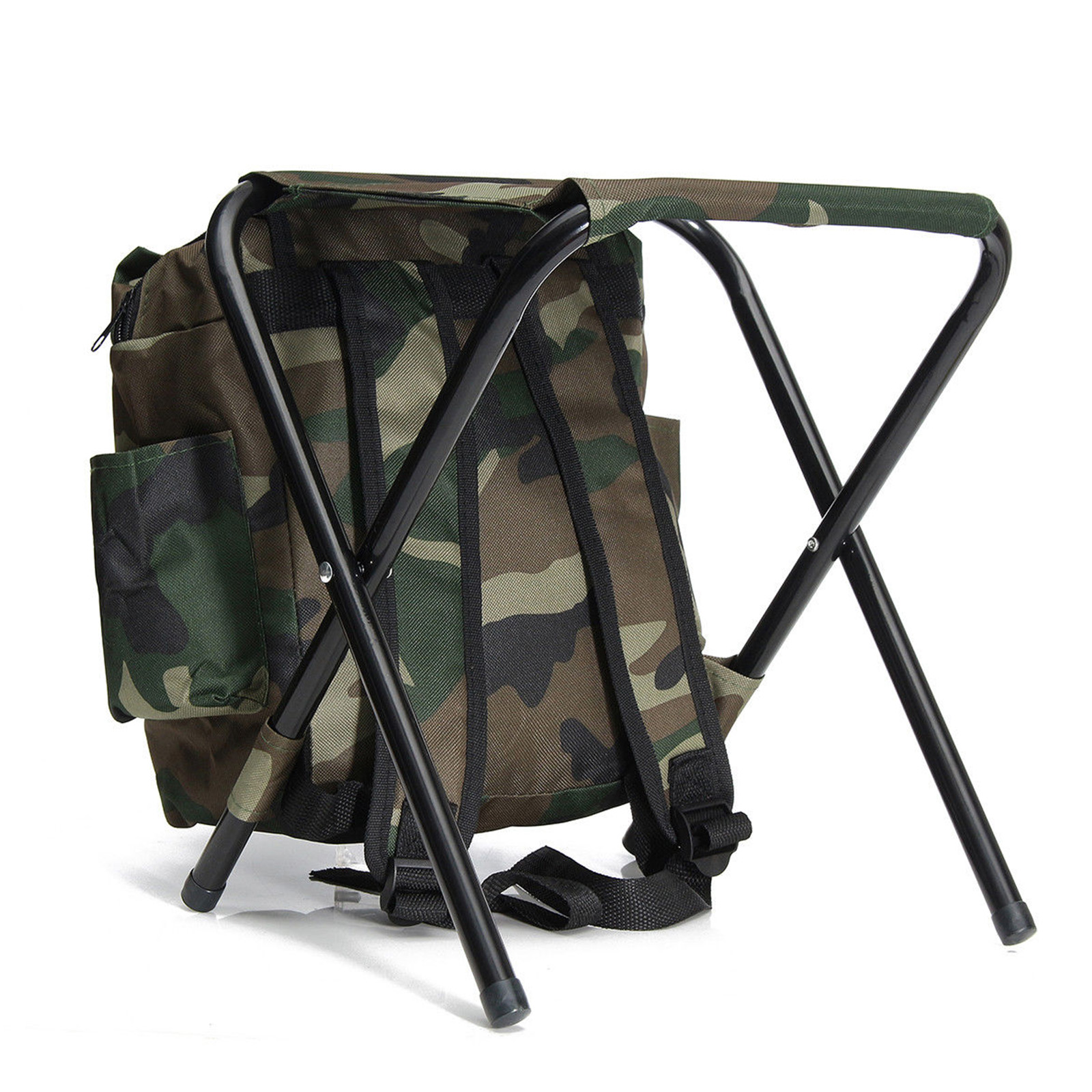 fishing chair rucksack best office for long hours reddit 2in1 folding stool backpack seat hunting