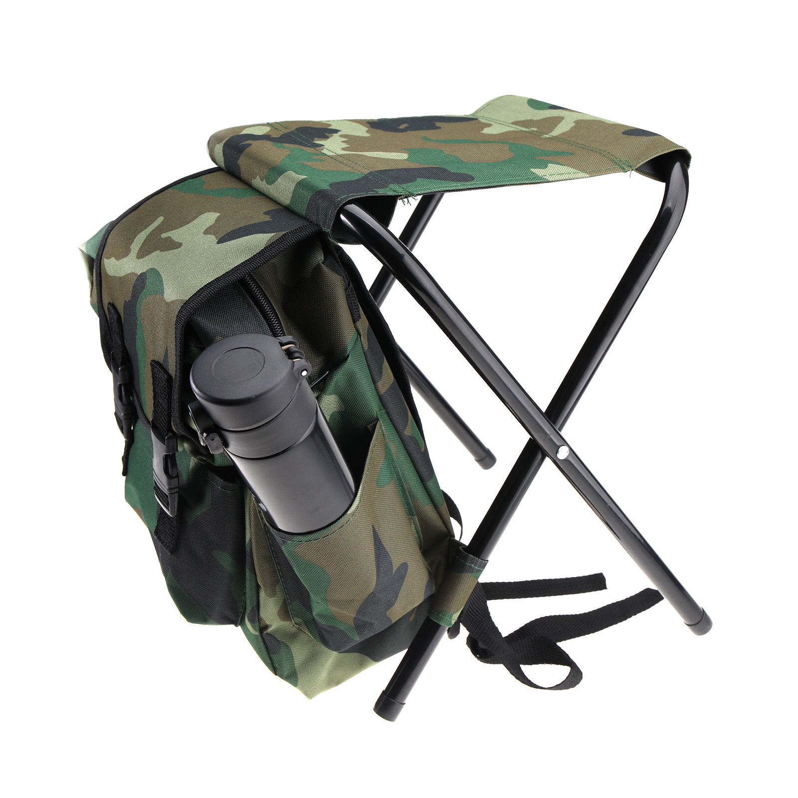 fishing chair rucksack covers for hire alberton foldable outdoor stool backpack travel