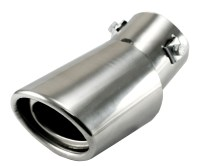 STAINLESS STEEL DROP DOWN CAR EXHAUST TAIL PIPE MUFFLER ...