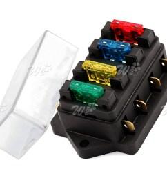 12v 24v universal 4 way circuit standard ato blade terminal fuse holder box [ 1600 x 1334 Pixel ]