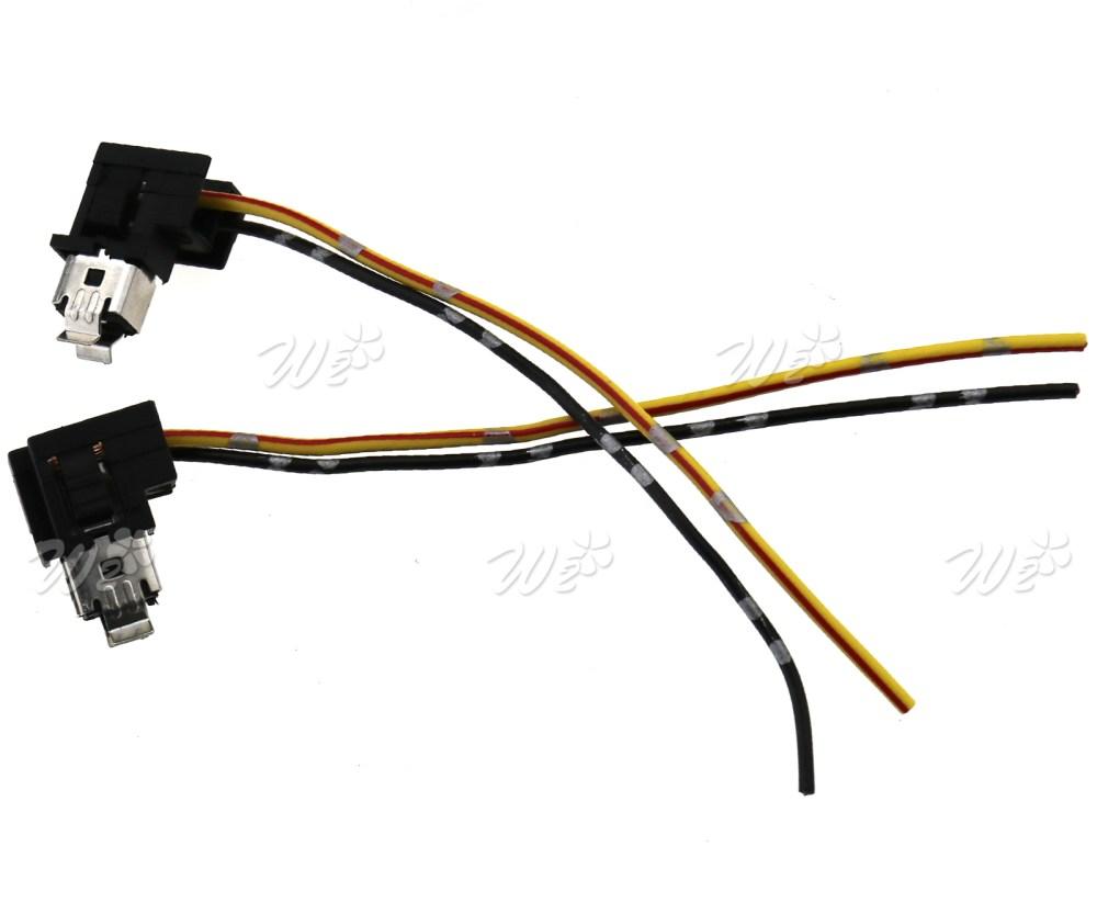 medium resolution of h1 head fog lamp light bulb socket holder wiring connector plug for auto car