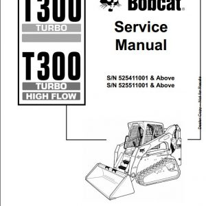 Bobcat 463 Skid Steer Loader Service Repair Manual