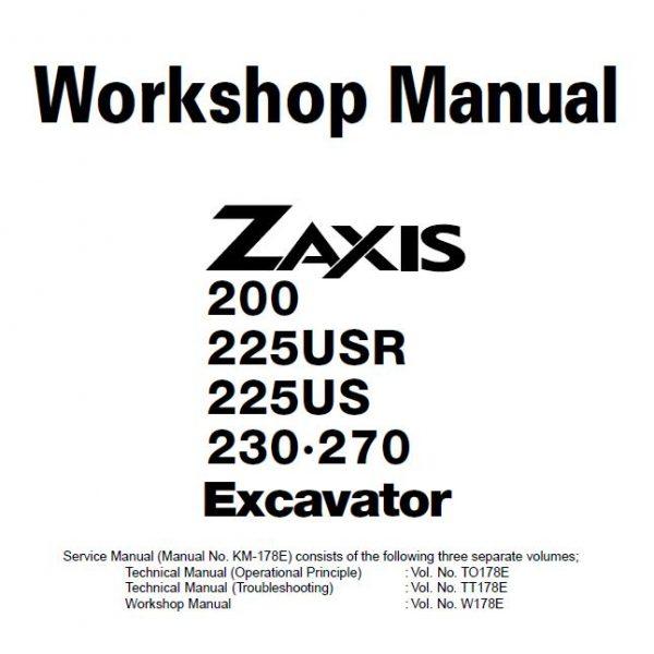 Hitachi EX125WD-5 Excavator Wheel Loader Technical