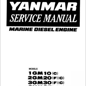 Yanmar Marine Diesel Engine 3JH4E, 4JH4E, 4JH4-TE, 4JH4