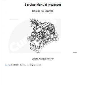 Deutz 1011F Engine Workshop Manual PDF