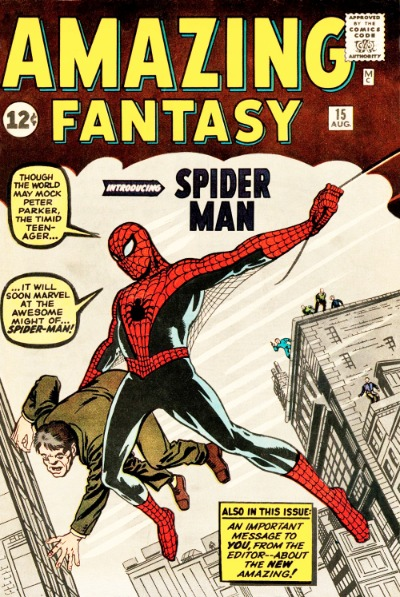 Image result for amazing spider man first issue