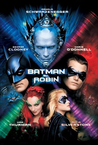 Batman and Robin makes it to #3 on the list of all-time WORST superhero movies