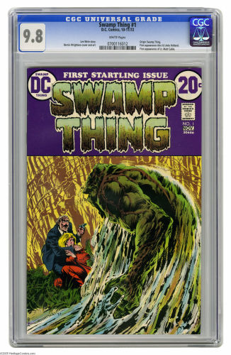 Hot Comics 2019 Swamp Thing 1 Bernie Wrightson