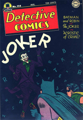 Joker Comics What Are Your Vintage Comic Books Work