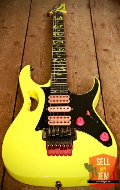 Ibanez Jem 777vdy Vine Desert Yellow Brand New
