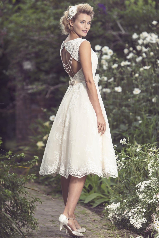 Brighton Belle Mia Tea Length Wedding Dress  Sell My Wedding Dress Online  Sell My Wedding