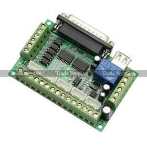MACH3 5 Axis CNC Breakout Interface Board for Stepper