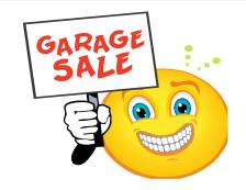 garage sale for medical funds
