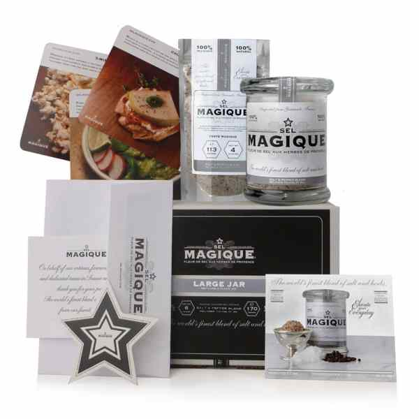Sel Magique - Salt & Pepper Blend - Large Jar