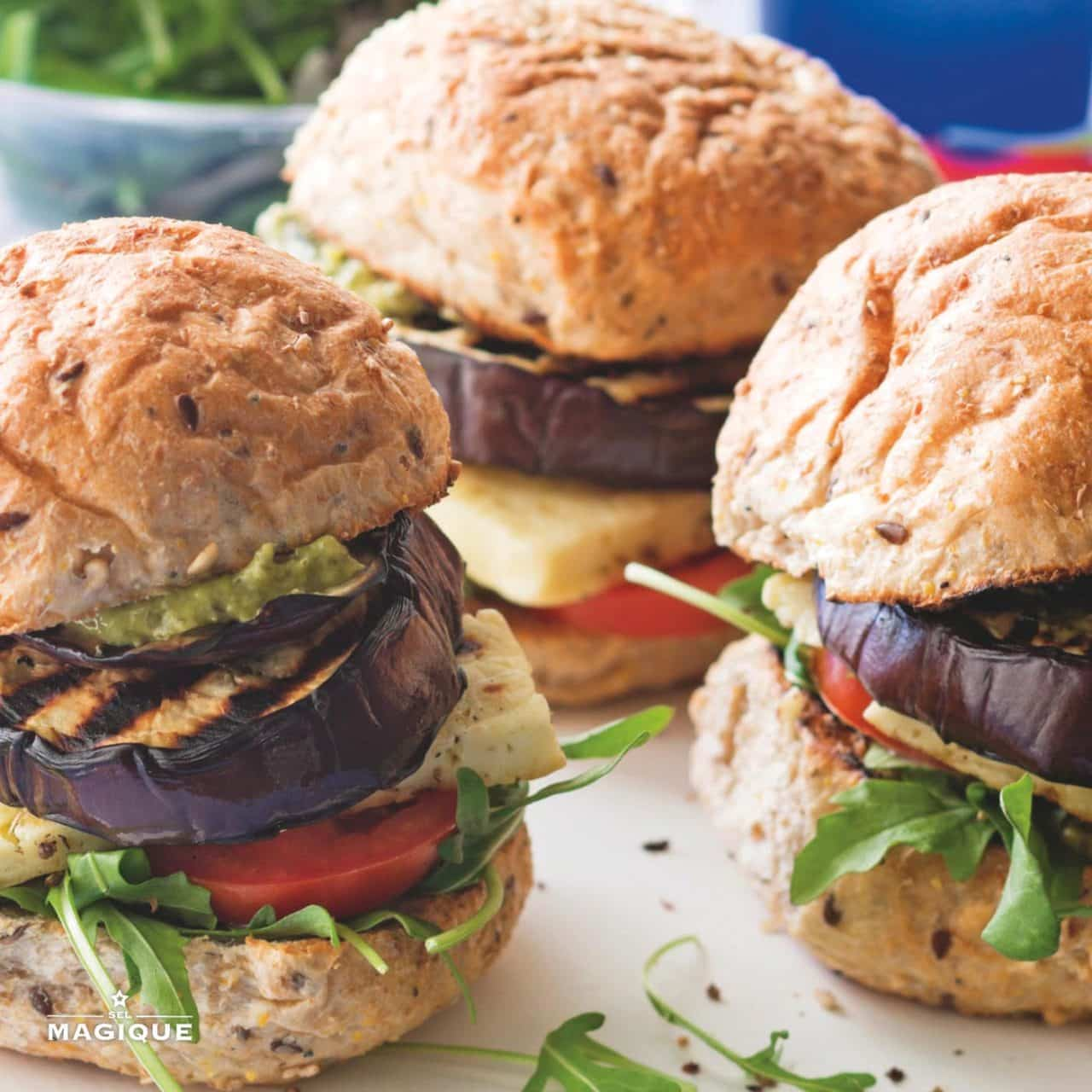 Grilled Eggplant Burgers copy