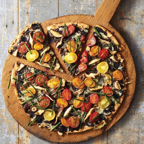 Chive Pizza