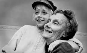 Astrid Lindgren och Jan Olsson