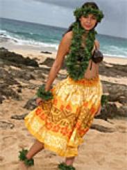 Hawaii Pa'u Kjol