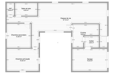 plans de maison de plain pied seloger