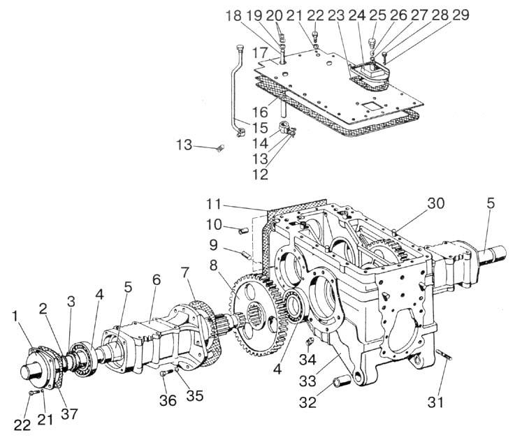 Belarus Tractor Diagram Of Engine Kubota Tractor Engine