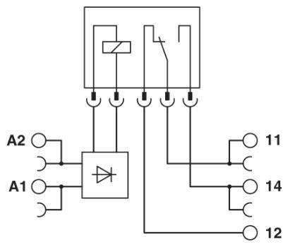 Phoenix Contact 2966171 PLC-RSC- 24DC/21 SPCO 24VDC PLC