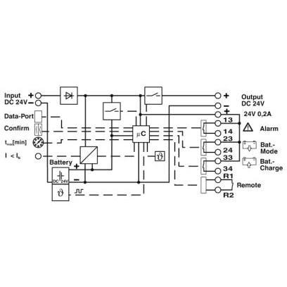 Phoenix Contact 2320267 QUINT-UPS/ 24DC/ 24DC/10/3.4AH