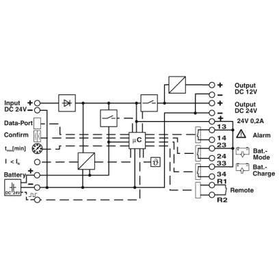 Phoenix Contact 2320461 QUINT-UPS/ 24DC/12DC/5/24DC/10