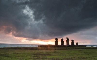 Rapa Nui Landscapes, la isla serena. Serie de paisajes de Isla de Pascua, Chile