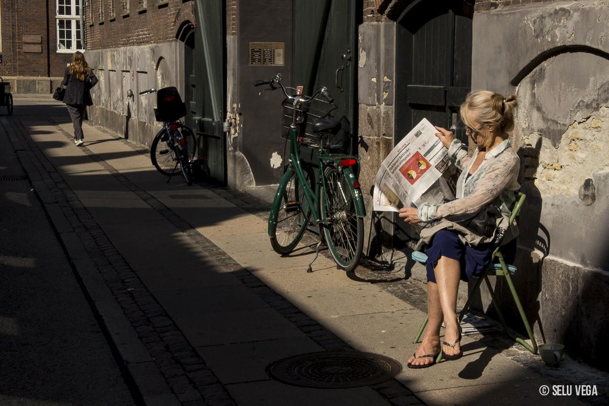 De visita en Copenhague