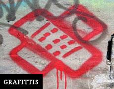 Lutte contres les graffitis à Sainte Marie