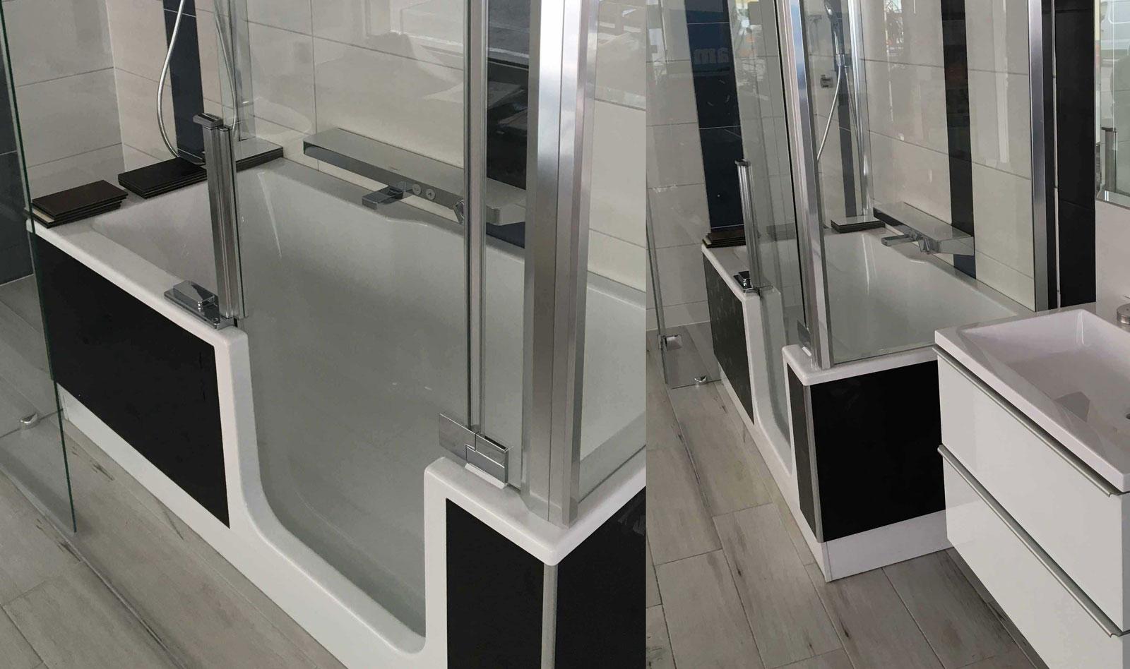 Barrierefreie Bad & WC - Toilette Sanitär Handel und Installation SEMA Installateur Wien sema_wien_vienna_behinderten_barrierefrei_schauraum_badewanne_2018