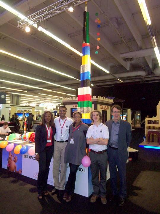 Duba Projet  La Tour Burj Khalifa reproduite en LEGO  Semageek