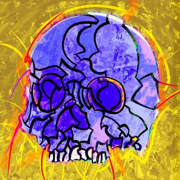 SKULL 01 VIOLET