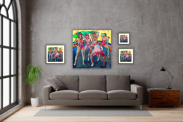 IN SITU EDITION MES DEMOISELLES D ICI ABSTRACT