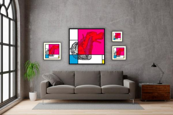 IN SITU EDITION PIET FEMALE ABSTRACTION 06