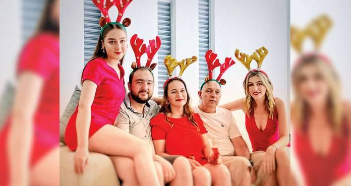Maritza Aristizábal, presentadora del Canal RCN, tiene una familia unida. Su papá, su hermana y su mamá también se contagiaron. Su hermano y ella no.