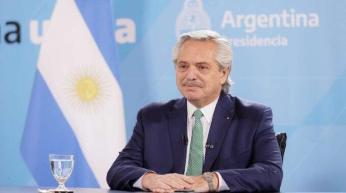 Alberto Fernández en un Foro Internacional destacó las políticas de género de su gobierno