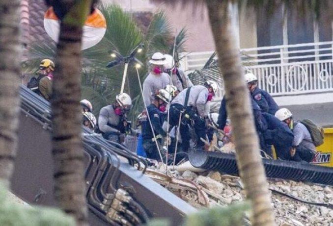 Surfside : Rescatista encuentra el cuerpo de su hija mientras que el número de muertos aumenta a 20